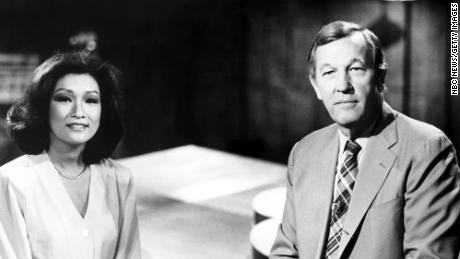 """Connie Chung and Roger Mudd anchored an NBC show called """"1986."""""""
