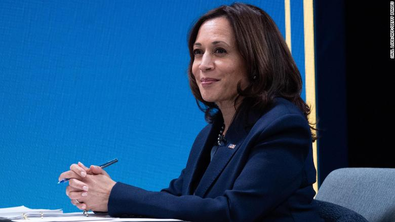 Harris uses UN speech to champion women's role in democracy