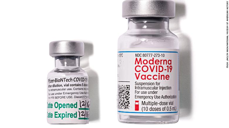 Smithsonian receives vial from the first Covid-19 vaccine dose administered in the US
