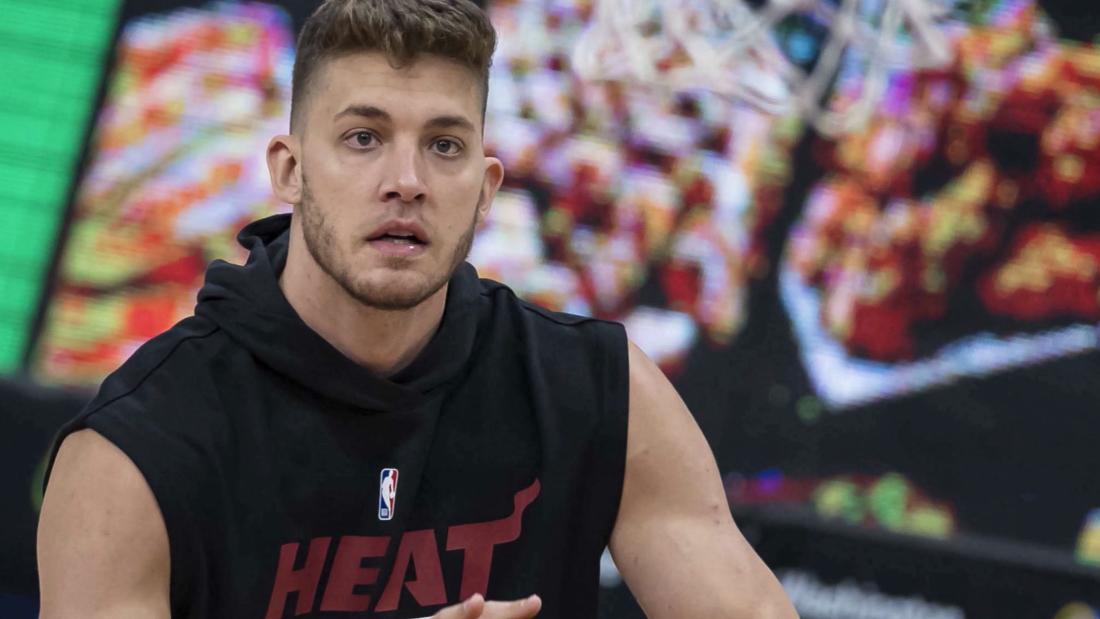 NBA fines Miami Heat star Meyers Leonard ,000