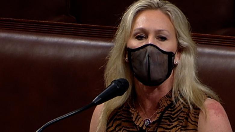 Democrat introduces resolution to expel GOP Rep. Marjorie Taylor Greene