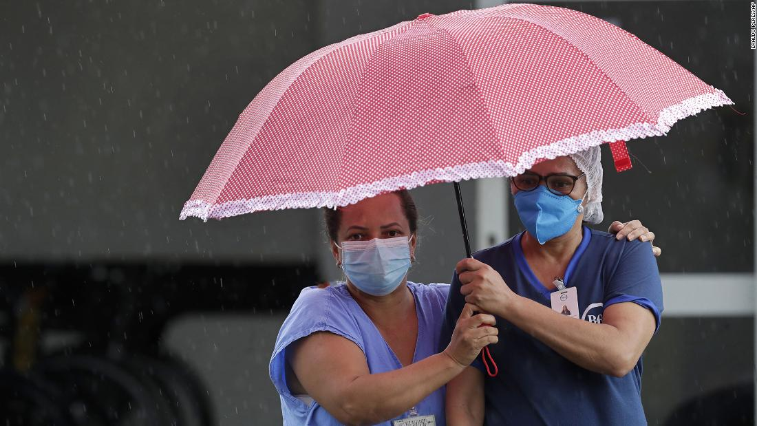 Brazil plunges into crisis as a second wave and deadly new variant overwhelm hospitals - CNN