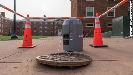 UVA's Covid-19 wastewater detection system