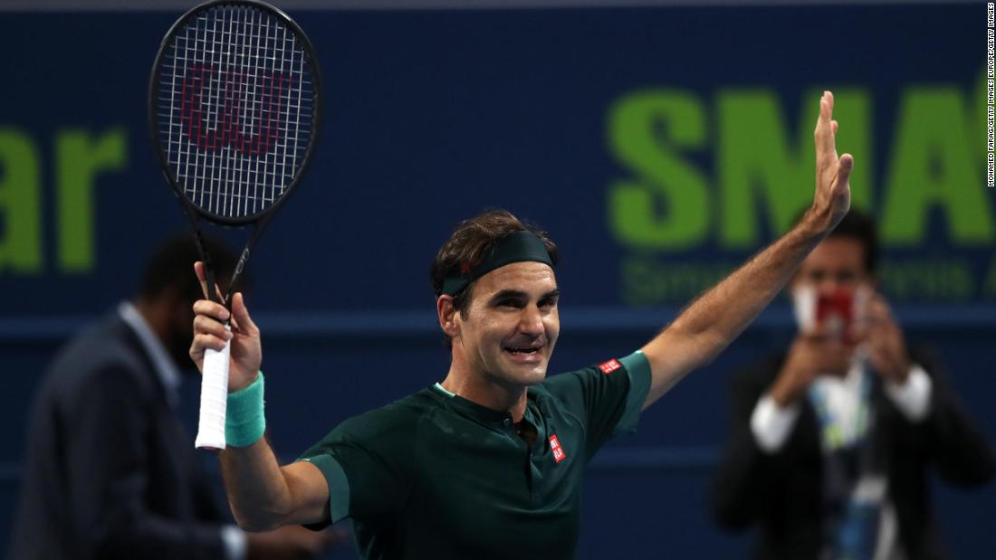 Roger Federer defeats Dan Evans as he returns from 13-month injury absence