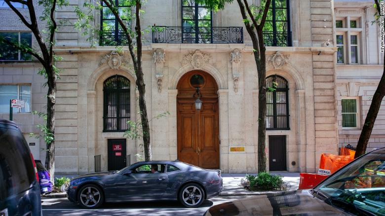 Jeffrey Epstein's Manhattan mansion sold for approximately $51 million