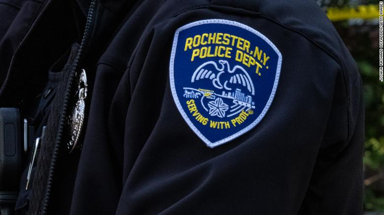 Rochester, NY police officer fatally shoots man armed with a knife outside a homeless shelter, police say