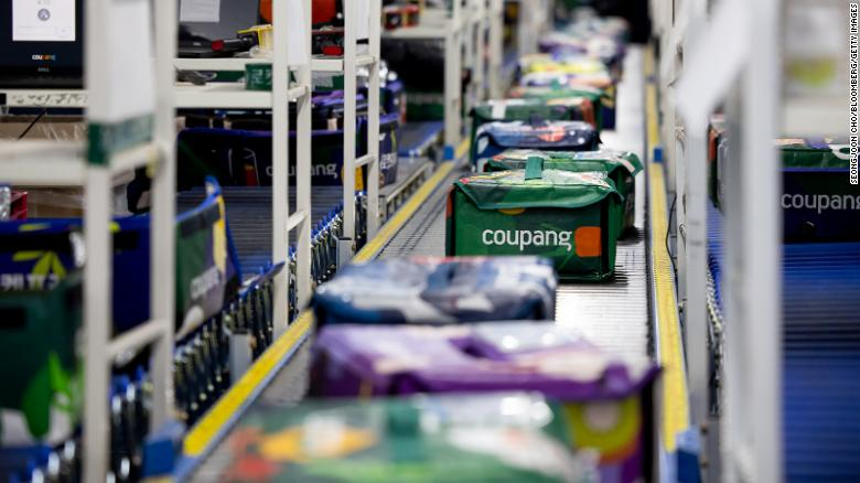 Coupang, the Amazon of South Korea, sees its shares pop in mega US IPO