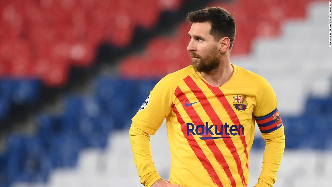 Messi scores 'special' goal but Barcelona crashes out of the Champions League
