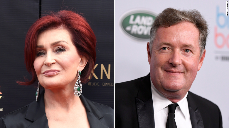 Sharon Osbourne defends supporting Piers Morgan