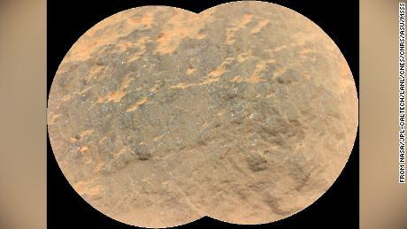 Kalıcı gezici, Mars'ta kaya kırılma sesini yeniden üretir