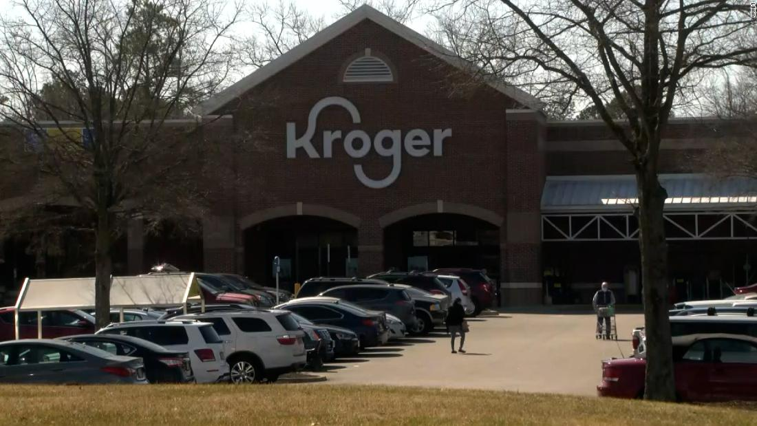 A Kroger clinic in Virginia accidentally gave customers empty shots instead of Covid-19 vaccines
