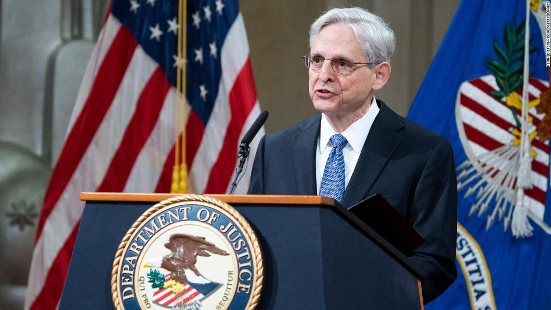 AG Garland promises to prioritize investigating police departments that commit civil rights violations