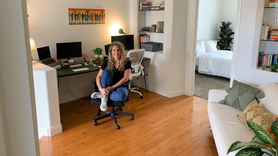 Nina Anziska was able to realize her dream of moving to Los Angeles after her company went fully remote.