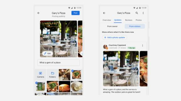 """Google Maps' new """"photo update"""" feature will let users contribute snapshots of the places they visit, without having to leave a full review."""
