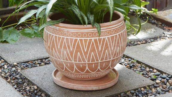 TheArtisanVariety Large Terra-Cotta Belly Pot