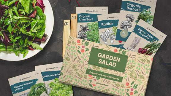 Beyond Roots Certified Organic Garden Salad Vegetable Seed