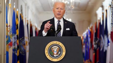Biden directs states to open vaccinations to all adults by May 1
