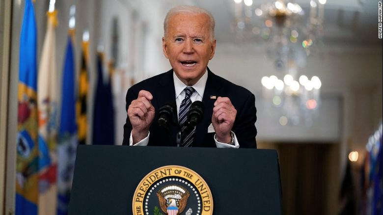 7 takeaways from Joe Biden's prime-time Covid-19 speech