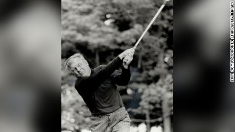While Norman's character was described as `` eccentric, '' his accuracy was legendary in golf.
