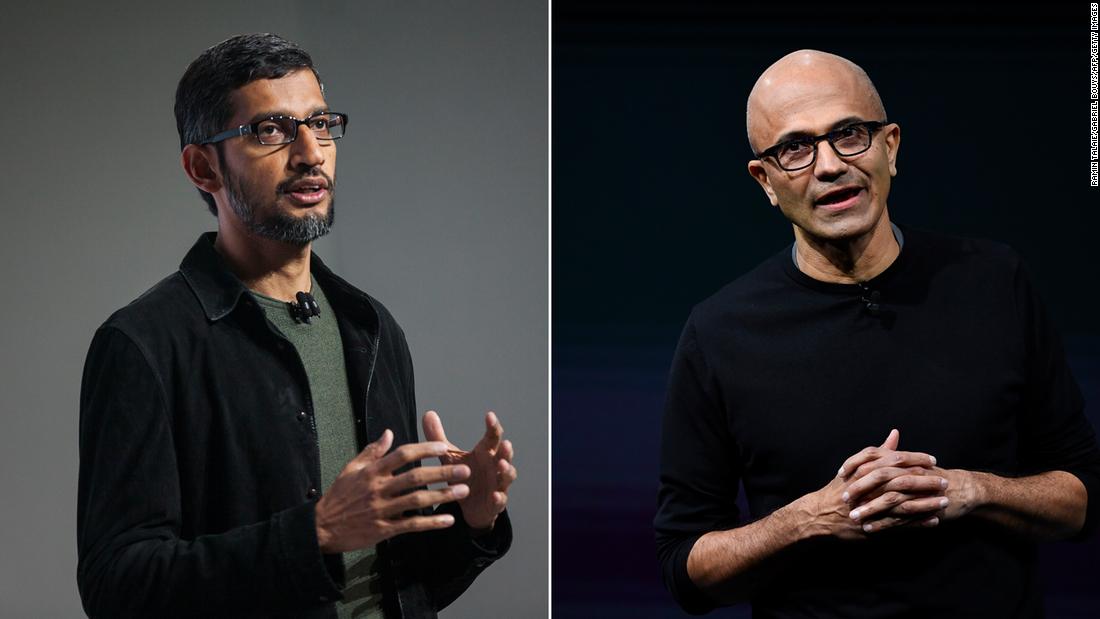 Google and Microsoft are in a public feud – CNN