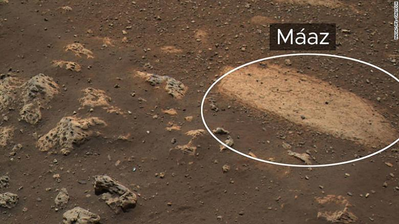 NASA is naming the rocks and soil on Mars in the Navajo language