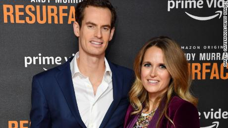 "Andy Murray and Kim Sears attend the ""Andy Murray: Resurfacing"" world premiere in London on November 25, 2019."