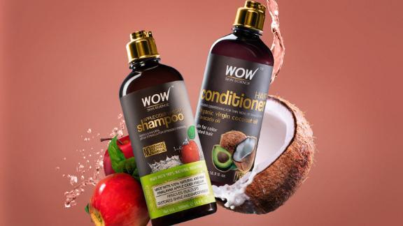 Apple Cider Vinegar Shampoo and Coconut + Avocado Oil Conditioner