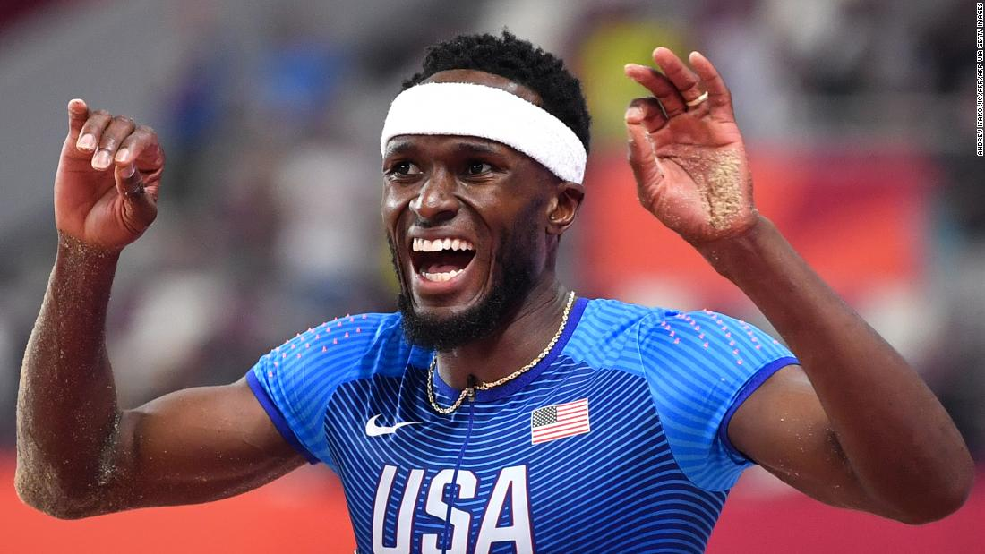 Olympic triple jumper and rapper on why his music career is more than a hobby