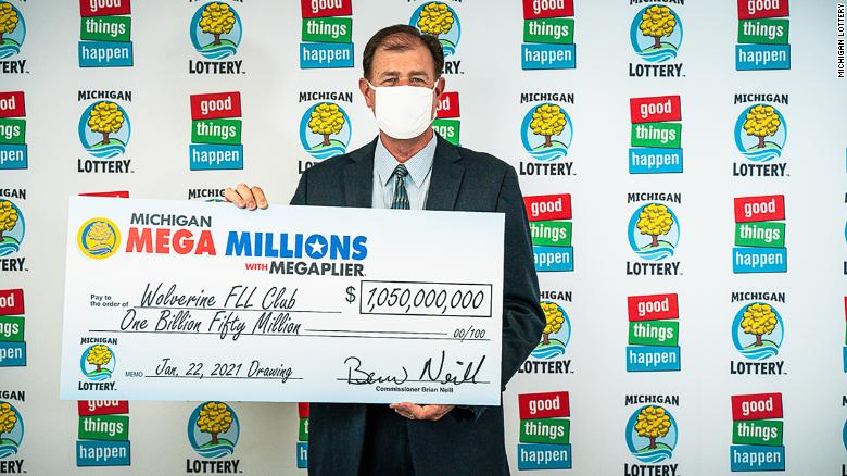 Four people in Michigan are splitting the $1.05 billion Mega Millions lottery prize