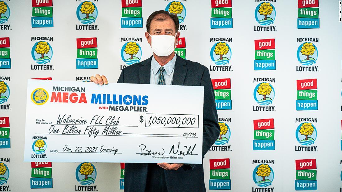 Four people in Michigan are splitting the $1.05 billion Mega Millions lottery prize - CNN