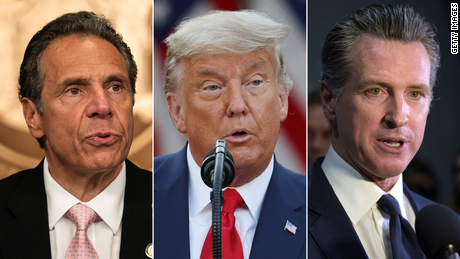How early pandemic praise for Cuomo, Newsom and Trump disappeared