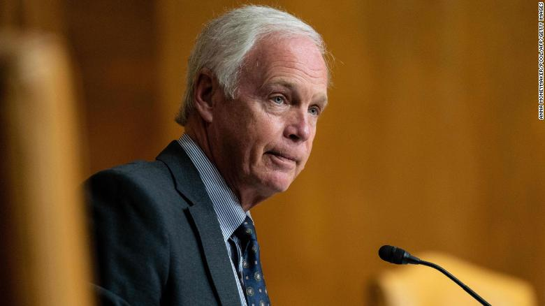 Ron Johnson downplays urgency of getting Covid-19 vaccine
