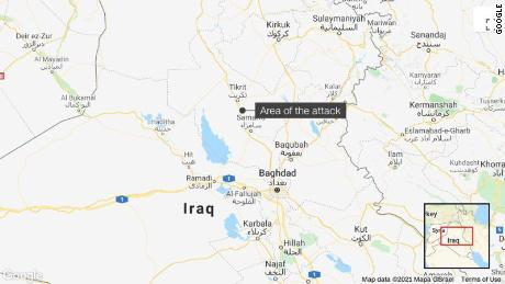 ISIS behind brutal attack in Salah al-Din province, Iraq military says