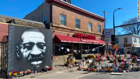 The place where George Floyd died is now sacred space and a battlefield