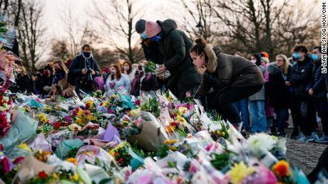 Se rindió homenaje a Londres durante la vigilia del sábado de Sarah Everard en Londres.