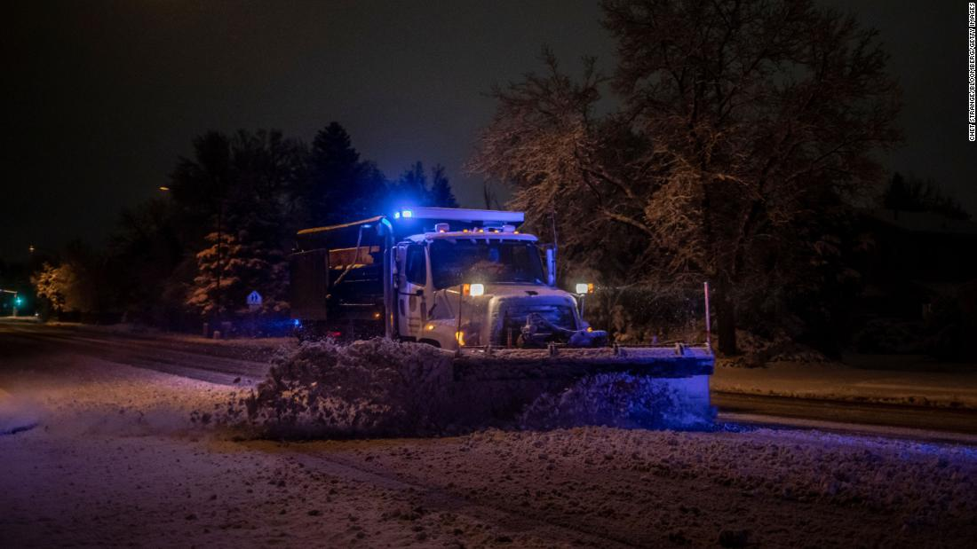 Storm system brings blizzard conditions, more snow, rain and flood concerns