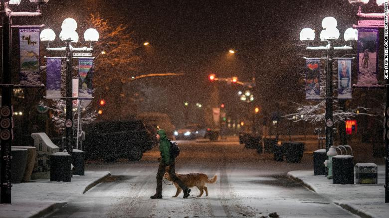 Powerful storm system brings with it blizzard conditions, more snow, rain and flood concerns