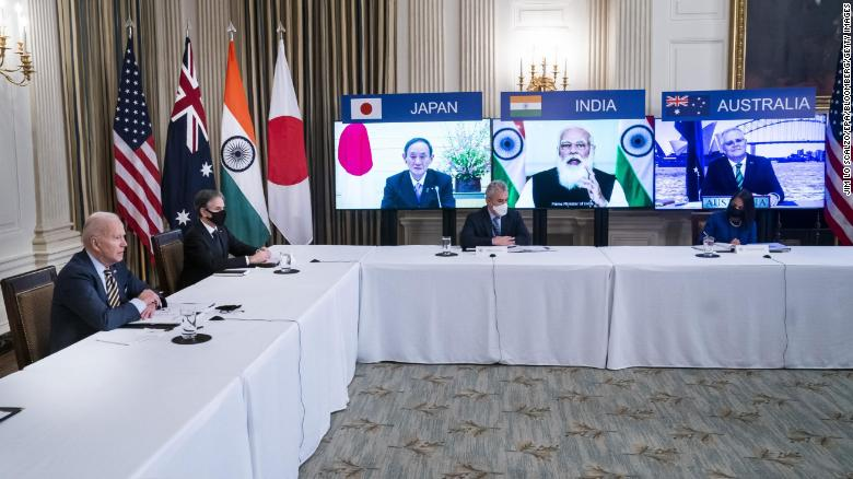 Biden commits to 'free, open, secure' Indo-Pacific in rare op-ed with 'Quad' members