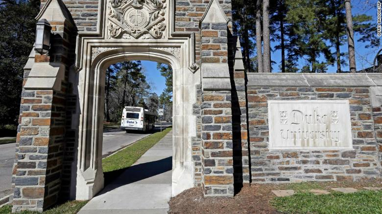 Duke University undergrads ordered to stay in place all week as Covid-19 cases spike