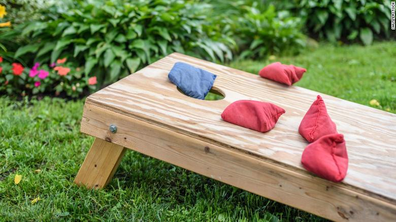 Here's how you could win $1,000 by playing cornhole in your own backyard