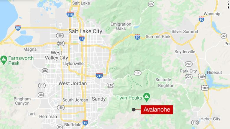 Two people injured in avalanche at Little Cottonwood Canyon, Utah