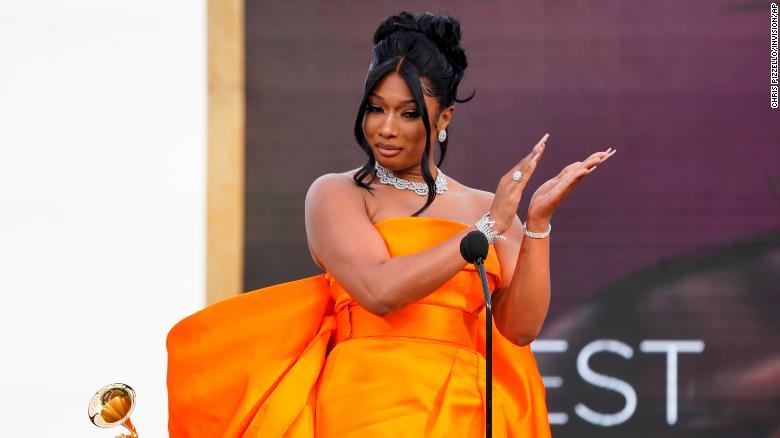 Megan Thee Stallion and Beyoncé make rap history at the Grammys