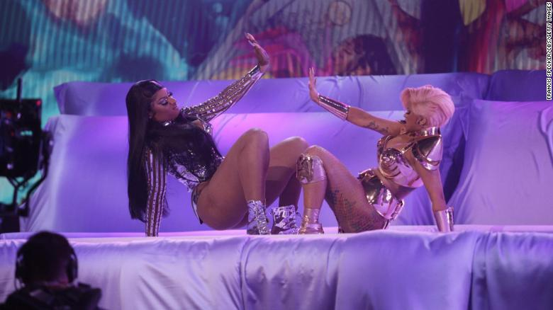 Cardi B and Megan Thee Stallion served up a very sex-positive performance
