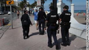 100 arrested as spring break crowds hit Miami Beach despite the pandemic
