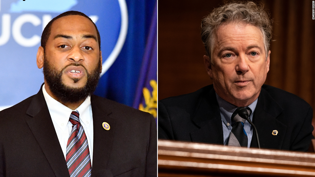Charles Booker 'strongly considering' bid against Rand Paul