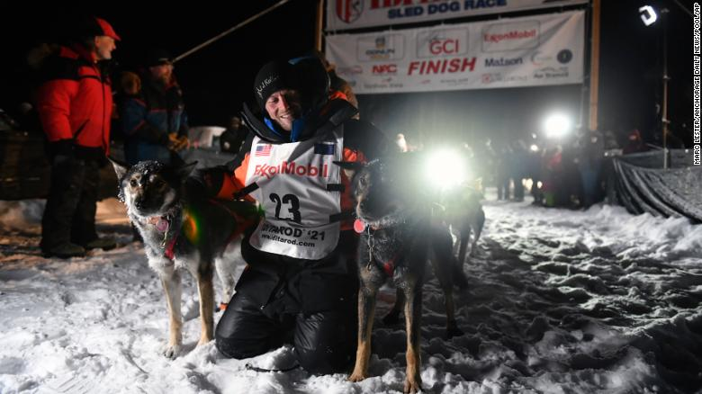 Musher Dallas Seavey captures his record-tying fifth Iditarod championship