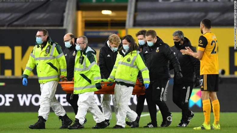 Rui Patricio 'okay' and 'totally conscious' after suffering head injury