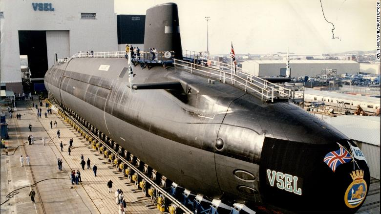 HMS Vanguard, the lead boat in the current class of British ballistic missile submarines, is due to be replaced in the 2030s.