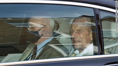 Prince Philip left King Edward VII's Hospital in London on Tuesday -- one month after he was first admitted.