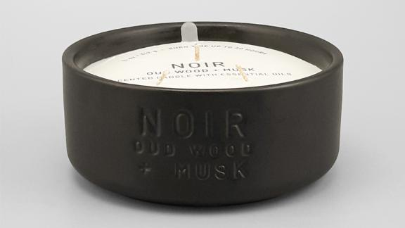 Project 62 Ceramic Jar 3-Wick Noir Oud Wood & Musk Candle
